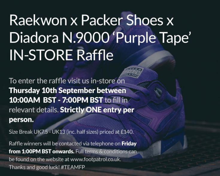 Diadora N.9000 Purple Tape x Packer x Raekwon_34